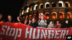 Aid Groups Look for Action, Not Talk at Rome Food Summit
