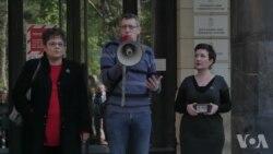 Protest targetiranih novinara: Zaustavite pretnje i nasilje