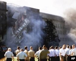 Le Pentagone le 11 septembre 2001