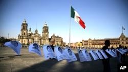 Más de 80.000 personas han sido asesinadas y 22.000 desaparecidas desde 2006.