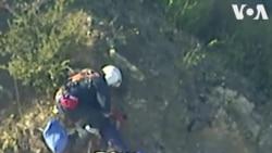 Mỹ: Giải cứu người chơi dù lượn bằng trực thăng