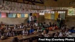 Les élèves de l'école intégrée Lira dans le nord de l'Ouganda.