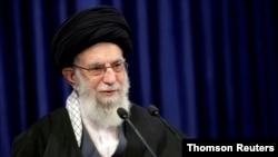 Ayatollah Ali Khamenei . Foto de arquivo