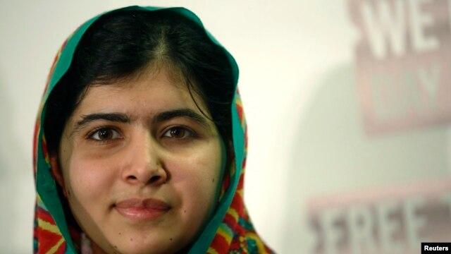 FILE - Malala Yousafzai.