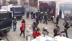 2014-06-01 美國之音視頻新聞: 土耳其警察發射催淚彈對付示威者