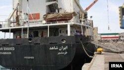 عکس آرشیوی از کشتی «ایران شاهد» که برای ارسال کمک های بشردوستانه عازم یمن شده است