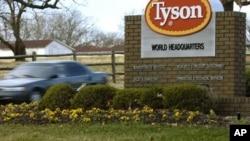 Tyson Foods Inc. retiró aproximadamente 16.500 kilogramos de nuggets de pollo . (Foto: AP/April L. Brown).