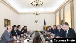Matthew Palmer and US ambassador to Bosnia meet BH Presidency