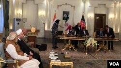 بر اساس ارقام رسمی در حال حاضر ۱۳۰ شرکت افغان در بندر چابهار ثبت شده است