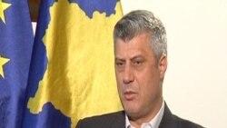 Косовскиот премиер Хашим Тачи за неодамнешните инциденти во Македонија