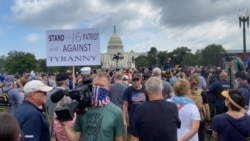 Protest za prava okrivljenih za upad u Kapitol