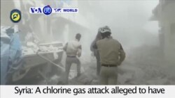 VOA60 World - Rescue Workers Report Chlorine Attack on Aleppo