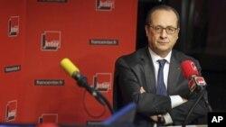 Fransiya Prezidenti Fransua Olland