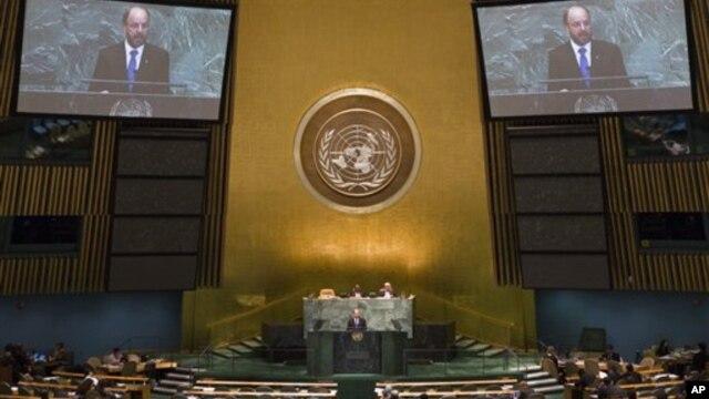 지난 9월 뉴욕에서 열린 제67차 유엔총회. (자료사진)