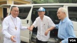 越南天主神父阮文理在奧巴馬訪問前被釋放