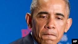 """លោកប្រធានាធិបតី Barack Obama បានមានប្រសាសន៍ថាទស្សនៈរបស់លោកគឺថា""""វិធីដ៏ឃោរឃៅទាំងនេះមិនមែនគ្រាន់តែមិនត្រឹមត្រូវតាមសេចក្តីថ្លៃថ្នូររបស់យើងជាប្រទេសជាតិមួយប៉ុណ្ណោះទេ ក៏ប៉ុន្តែវាក៏មិនបម្រើកិច្ចខិតខំប្រឹងប្រែងប្រឆាំងនឹងភេរវកម្មដ៏ទូលំទូលាយរបស់យើងឬផលប្រយោជន៍សន្តិសុខជាតិរបស់យើងទេ។"""""""