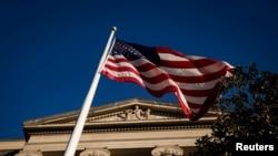 位于华盛顿的美国司法部大楼