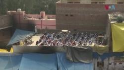 نئی دہلی: فسادات میں منہدم کی جانے والی مساجد میں نماز