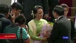 Cố vấn Nhà nước Myanmar, Aung San Suu Kyi, sắp thăm Việt Nam
