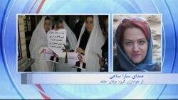 حکم شلاق و زندان برای تجمع کنندگان در مقابل زندان اوین
