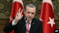 رجب طیب اردوغان رئیس جمهوری ترکیه - آرشیو