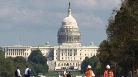 美国国会大厦。11月4号举行的美国国会中期选举将决定参议院的主导权归属共和党还是民主党。