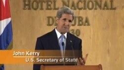 جان کری: کمیته مشترک برای عادی سازی رابطه آمریکا و کوبا تشکیل می شود