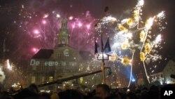 Proslava u Mastrihtu povodom uvođenja eura