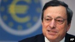 Predsednik Evropske centralne banke Mario Dragi