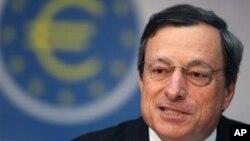마리오 드라기 유럽중앙은행 총재. (자료사진)