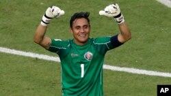 Navas, llevó a la selección costarricense a los cuartos de final de la Copa del Mundo donde cayeron por penales frente a Holanda.