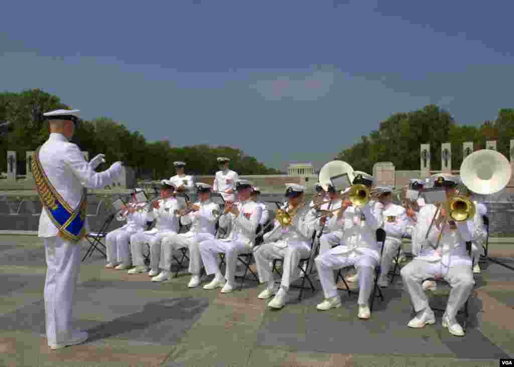 Духовой оркестр военно-морского флота США
