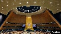 紐約聯合國大會會場(2018年9月24日)