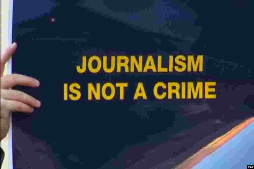 Jornalismo não é crime