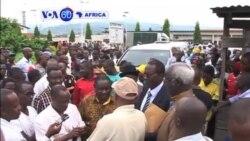 VOA60 Afirka: Kungiyoyin Adawar Jam'iyyun Burundi Naso a Dakatar da Bada Katin Zabe, Burundi, Disamba 22, 2014