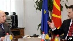 Нимиц по Скопје замина за Атина