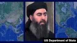 រូបឯកសារ៖ មេដឹកនាំ Abu Bakr al-Baghdadi របស់ក្រុមរដ្ឋឥស្លាមដែលគេរាយការណ៍ថាបានស្លាប់។
