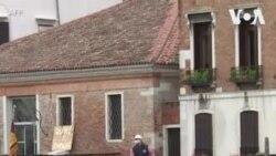 意大利封锁禁令放松 威尼斯渡船重回运河水道