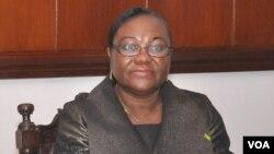Maria das Neves, candidate à la présidentielle de Sao Tomé-et-Principe.