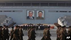 North Korea Commemorates Kim Jong Il's Death Anniversary