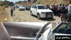 عصر یکشنبه رخ داد، چهار نفر با بستن راه خودروی نماینده اسلام آباد غرب و فرماندار این شهر، خودروهای آنها را به رگبار بستند.