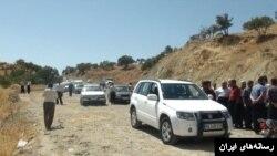 تصویری از خودروی نماینده مجلس پس از تیراندازی