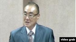 Tân Bộ trưởng Quốc phòng Đài Loan Feng Shih-kuan.