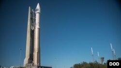 第4颗红外导弹预警卫星2018年1月17日等待发射升空(美国国防部)