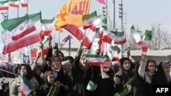 Mитинг в знак 33-й годовщины Исламской революции