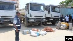 Policia recpuera camiões de clinicas moveis roubados no Kwanza Sul - 2:36
