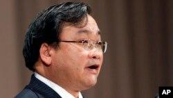 Hoàng Trung Hải, Ủy viên Bộ Chính trị kiêm Bí thư Thành ủy Hà Nội.