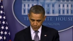 """奥巴马对大型致命校园枪击案表示""""极其悲痛"""""""