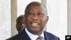 លោកប្រធានាធិបតី Laurent Gbagbo នៃប្រទេស កូឌីវ័រ ថ្ងៃទី៦ខែមករាឆ្នាំ២០១១។