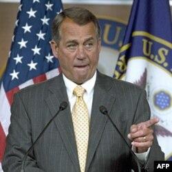 Temsilciler Meclisi Başkanı John Boehner